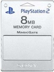 Карта памяти Sony Memory Card 8 MB Silver (PS2)