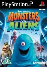 Игра Monsters vs. Aliens для Sony PS2