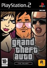 Игра Grand Theft Auto The Trilogy для PS2